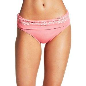 CALIA by Carrie Underwood Bikini Bottom Coral Pink